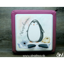 Pinguin Motiv-Vollschutzfolie