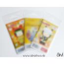 25x transparente Beutel für große Booklets...