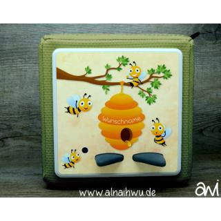Bienen Motiv-Vollschutzfolie