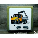 LKW Truck Kranwagen Motiv-Vollschutzfolie