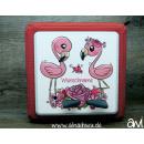 Flamingos Motiv-Vollschutzfolie