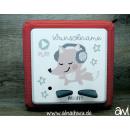 Musik - Fuchs mit Kopfhörern Motiv-Vollschutzfolie