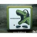 Dinosaurier mit Kopfhörern Motiv-Vollschutzfolie