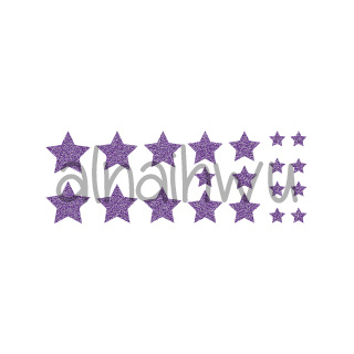 glitzernd violett